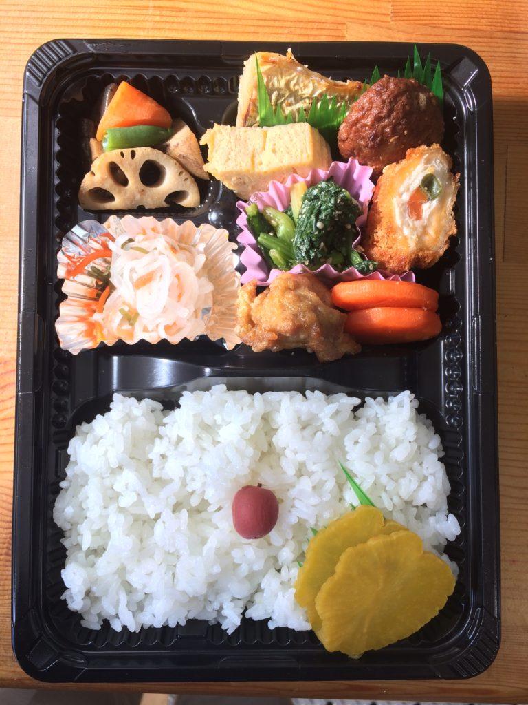 538円(税込み:税率8%)のまんま弁当(中)