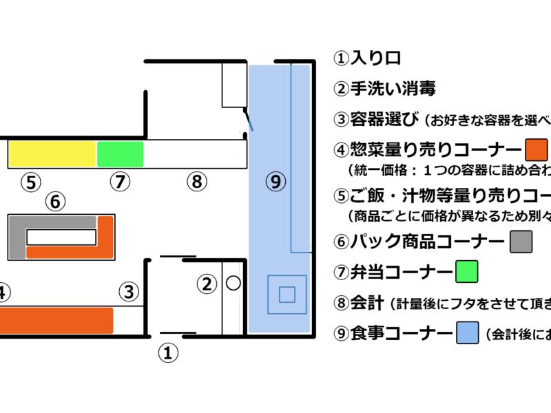 店内案内図